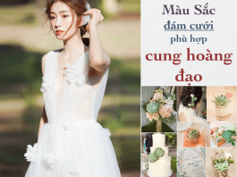 phong cach cuoi theo cung hoang dao
